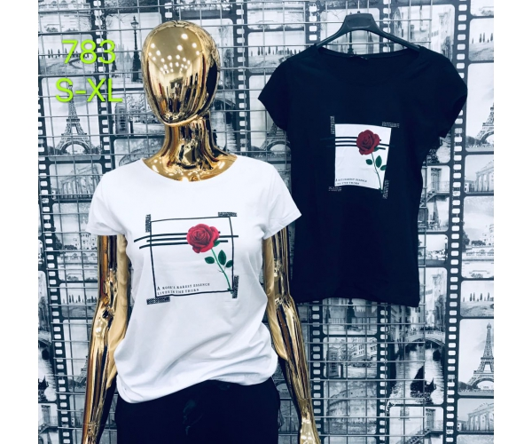 T-SHIRT  RED ROSESS